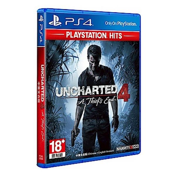 特價片 全新 PS4 原版片, 秘境探險 4:盜賊末路 中文一般版(PlayStation Hits)