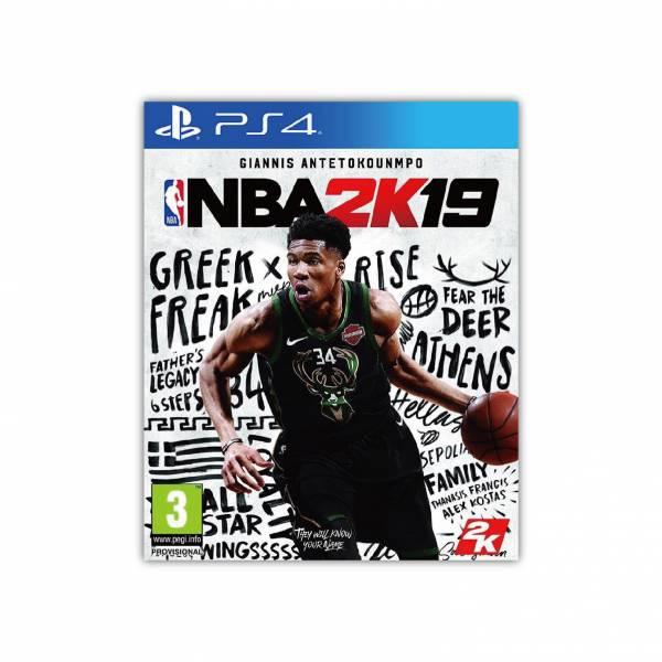 期間特價 全新 PS4 原版遊戲片, NBA 2K19 中文一般版