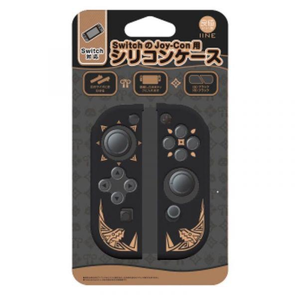 良值牌 Switch 魔物獵人崛起 主題款 Joy-Con 手把用果凍套(無手把) L495