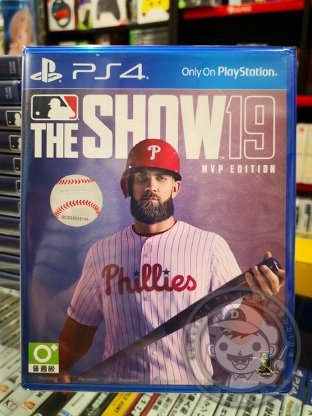 全新 PS4 原版遊戲, MLB THE SHOW 19 美國職棒大聯盟 19 MVP 英文亞版