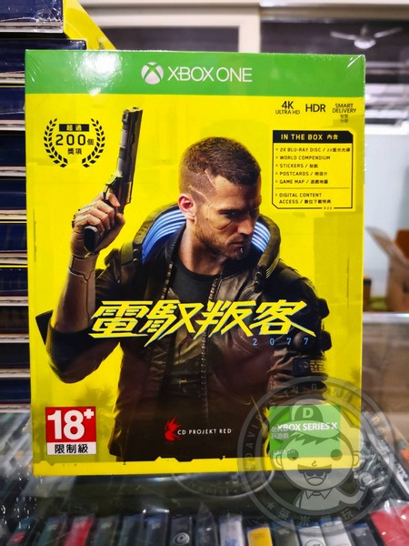 全新 XBOX ONE 電馭叛客 2077 中文一般版, 內附首批特典贈品&DLC