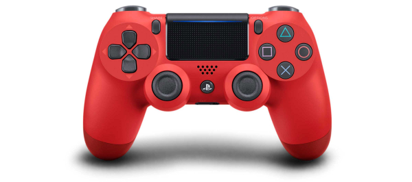 全新台灣 SONY 公司貨 PS4 DUALSHOCK 4 新款無線控制器(熔岩紅)