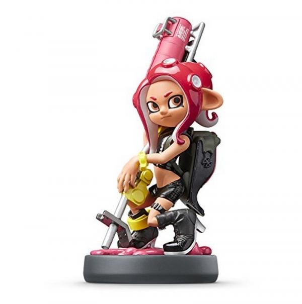 預購 全新任天堂明星 NFC 連動人偶玩具 amiibo, 粉紅色章魚女孩(漆彈大作戰2系列) 款(不含遊戲片) 預定2020年內再販