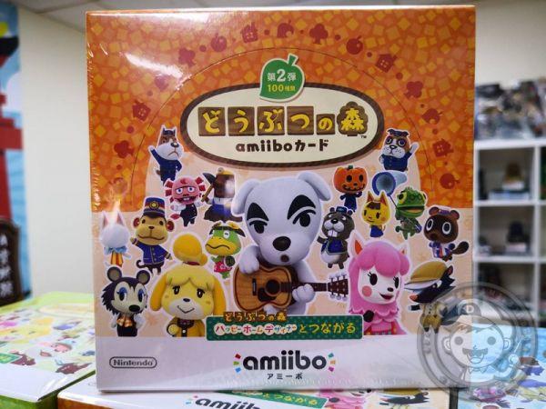 全新任天堂原廠 amiibo 卡片, amiibo 動物之森 第二彈 ,一盒50包, 不拆賣