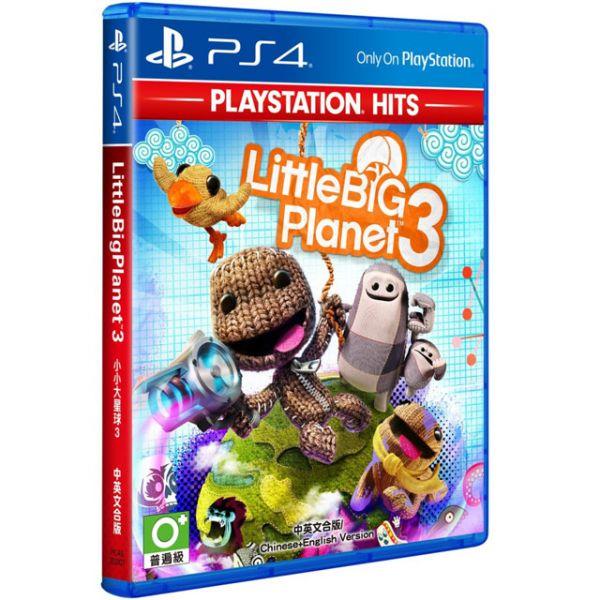 特價片 全新 PS4 原版遊戲片, 小小大星球 3 中英文合版(PlayStation Hits)