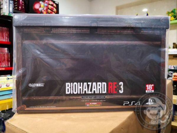 全新 PS4 原版遊戲片, 惡靈古堡 3 重製版 中文典藏版