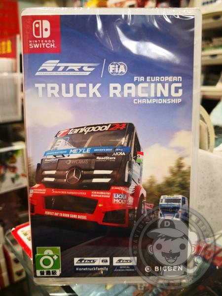 全新 Switch FIA 歐洲卡車錦標賽 中英文合版