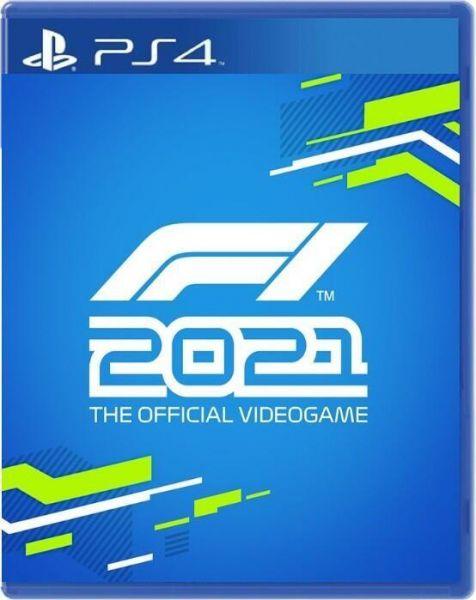 全新 PS4 原版片, F1 2021 簡體中英文合版
