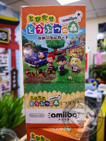 全新任天堂原廠 amiibo 卡片, 走出戶外!動物之森 amiibo+ ,一盒20包, 不拆賣