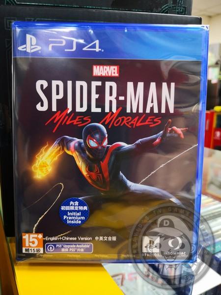 全新 PS4 遊戲片, 漫威蜘蛛人:邁爾斯摩拉斯 中文一般版