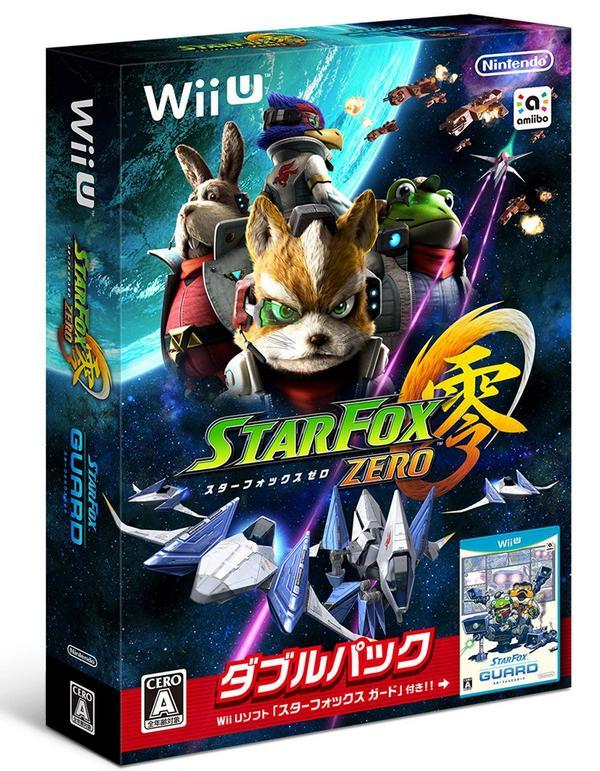 出清 全新 Wii U 原版遊戲片, 星戰火狐 零 + 星戰火狐 警備員 雙重包 純日版