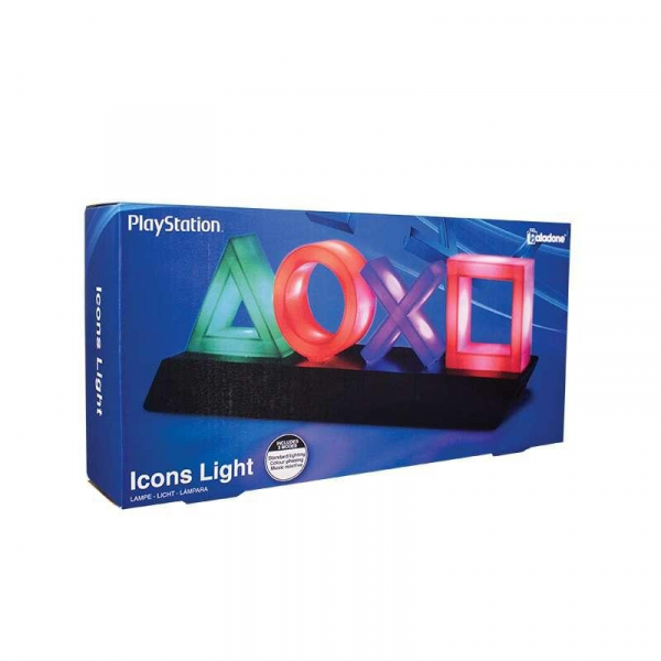 全新 SONY PlayStation icons light 手把按鈕造型燈