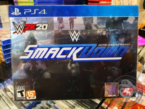 特價片 全新 PS4 原版遊戲片, WWE 2K20 英文珍藏版(沒出中文)