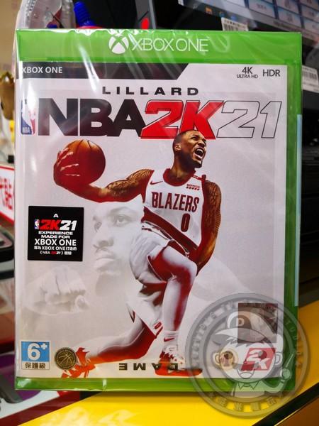 期間限定 全新 XBOXONE 原版遊戲片, NBA 2K21 中文一般版