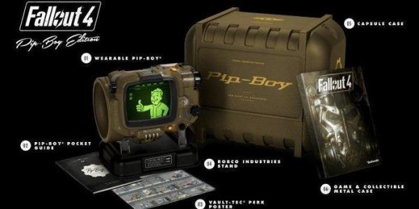全新 PC 原版片, Fallout 4 異塵餘生 4 Pip-Boy 中文典藏版