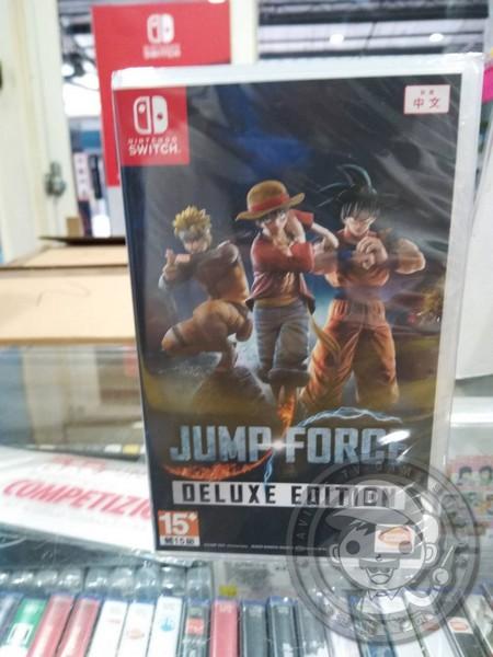 全新 Switch 原版遊戲卡帶, JUMP FORCE 豪華版 中文版