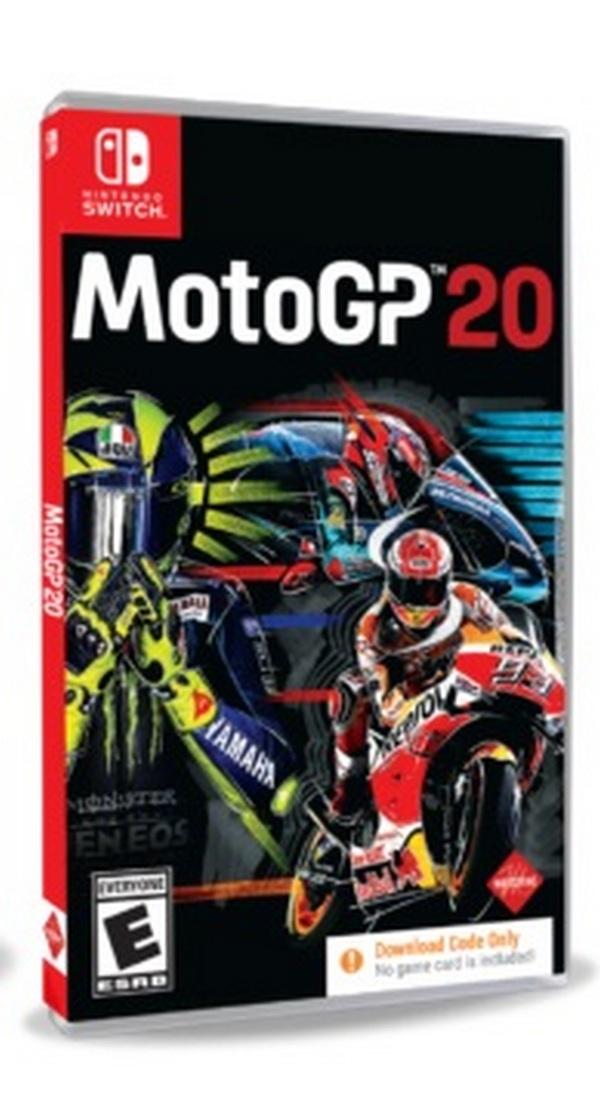 特價片 全新 NS 原版遊戲, 世界摩托車錦標賽 MotoGP 20 英文版(無中文)(內附序號無實體卡帶)