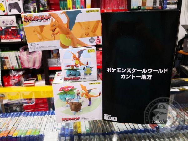 全新代理版檢驗合格 盒玩(無糖果) 精靈寶可夢 SCALE WORLD 全六款(內有10小盒)+妙蛙花+噴火龍+水箭龜