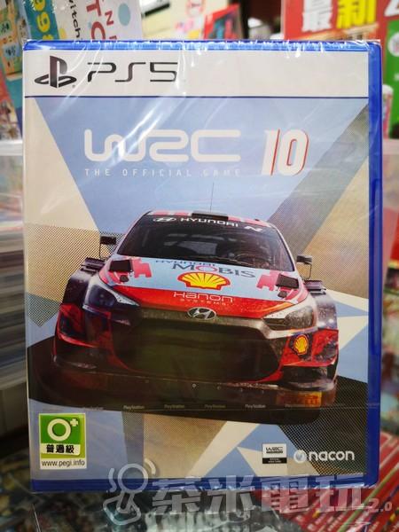 全新 PS5 原版遊戲片, WRC 世界拉力錦標賽10 中英文合版