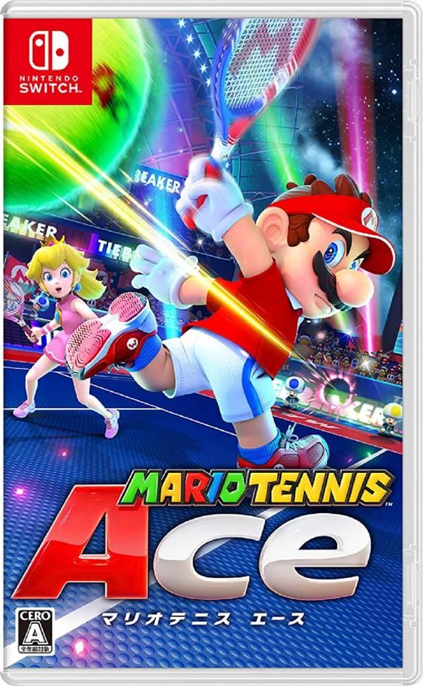 全新 NS Switch 原版遊戲, 瑪利歐網球 王牌高手 日文包裝版(更新後有中文)