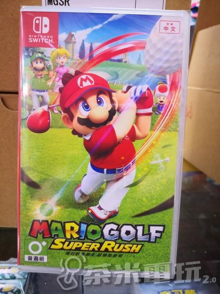 全新 NS 原版卡帶, 瑪利歐高爾夫 超級衝衝衝 中文版, 送首批主題磁鐵贈品