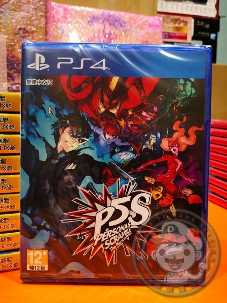期間慶祝價 全新 PS4 原版遊戲片, 女神異聞錄 5 亂戰:魅影攻手 中文一般版