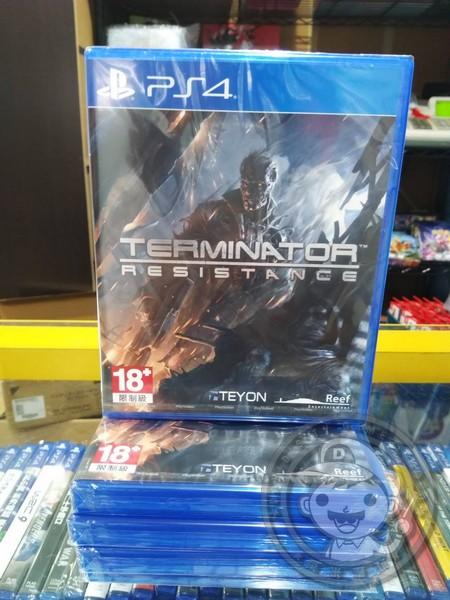 全新 PS4 原版遊戲片, 魔鬼終結者:反抗時刻 國際版(內有簡體中文)