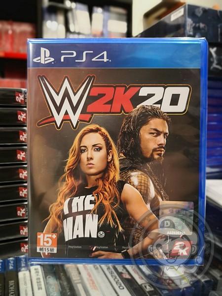 全新 PS4 原版遊戲片, WWE 2K20 英文標準版(沒出中文)