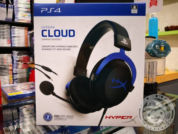 (暑期活動)金士頓 HyperX Cloud PS4 用遊戲耳機麥克風, 兩年保固