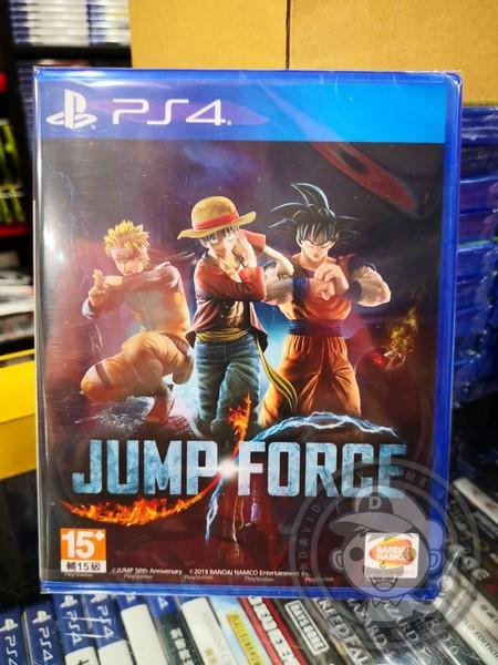 特價片 全新 PS4 原版遊戲, JUMP FORCE 中文版