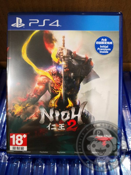 全新 PS4 原版遊戲片, 仁王 2 中文版