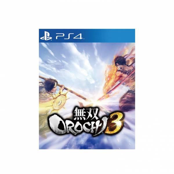 全新 PS4 原版遊戲, 無雙 OROCHI 蛇魔 3 中文一般版, 非首批沒附啥特典或贈品囉