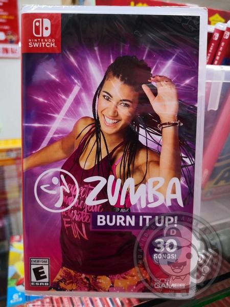 全新 NS 原版遊戲, Zumba: Burn It Up 英文包裝中文版
