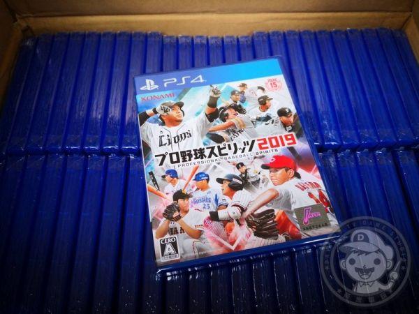 中華隊勝南韓 全新 PS4 原版遊戲, 職棒野球魂 2019 純日普通版(沒出中文)