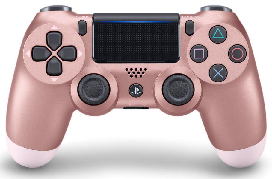 全新台灣 SONY 公司貨 PS4 DUALSHOCK 4 新款無線控制器(玫瑰金)