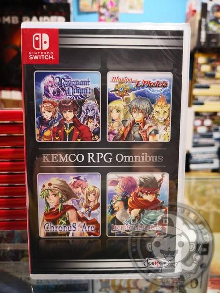 全新 Switch 原版卡帶, KEMCO RPG 精選集 Vol.1日英文合版