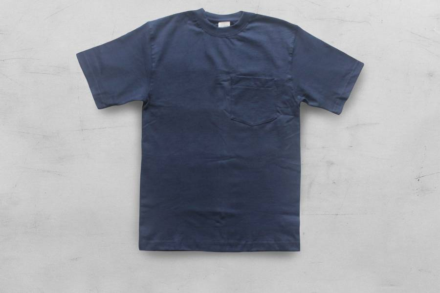 CAMBER- /Max-Weight®重磅口袋T恤/深藍