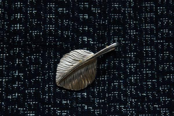 KinG Smith - 純銀小翼羽(單面右向)-訂製