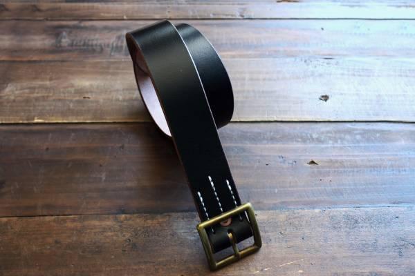 S.F.K. Type II Leather Belt /茶芯