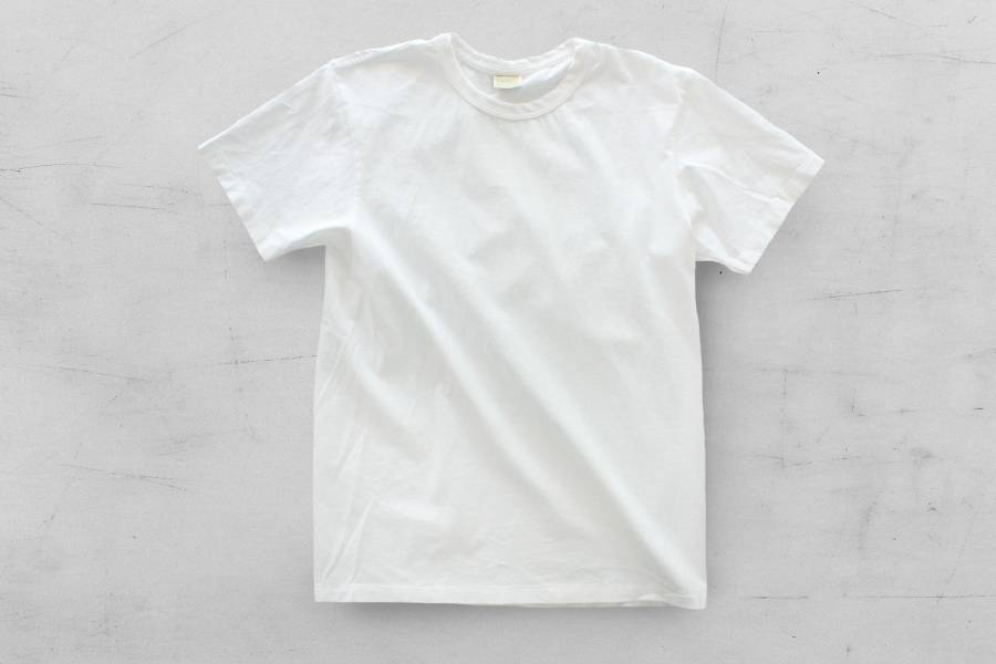 Runabout - SIMPLE TEE/白 runabout goods