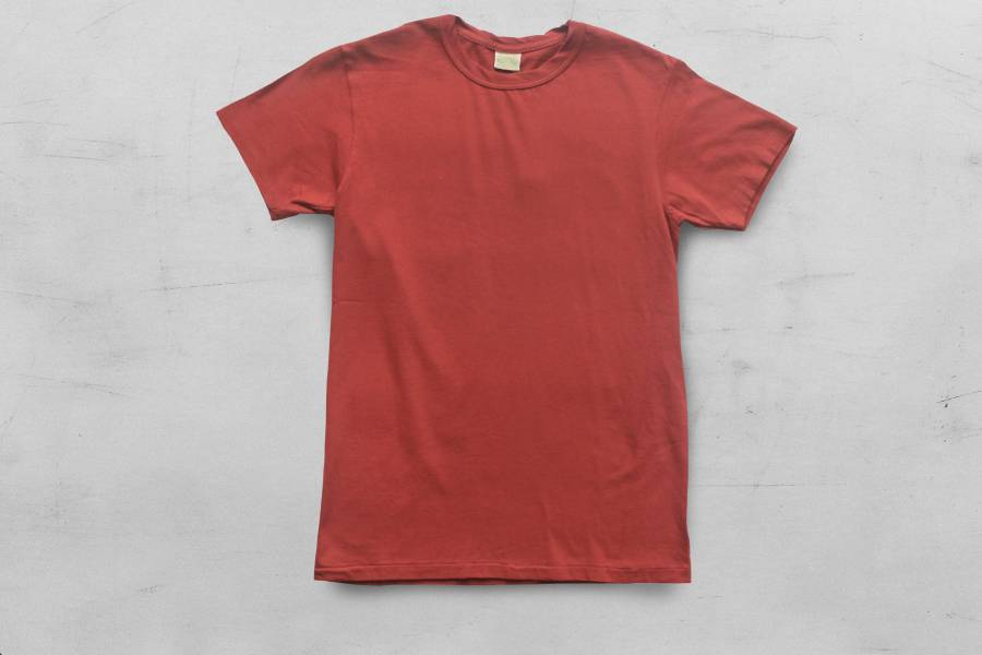 Runabout - SIMPLE TEE/莓果紅 runabout goods