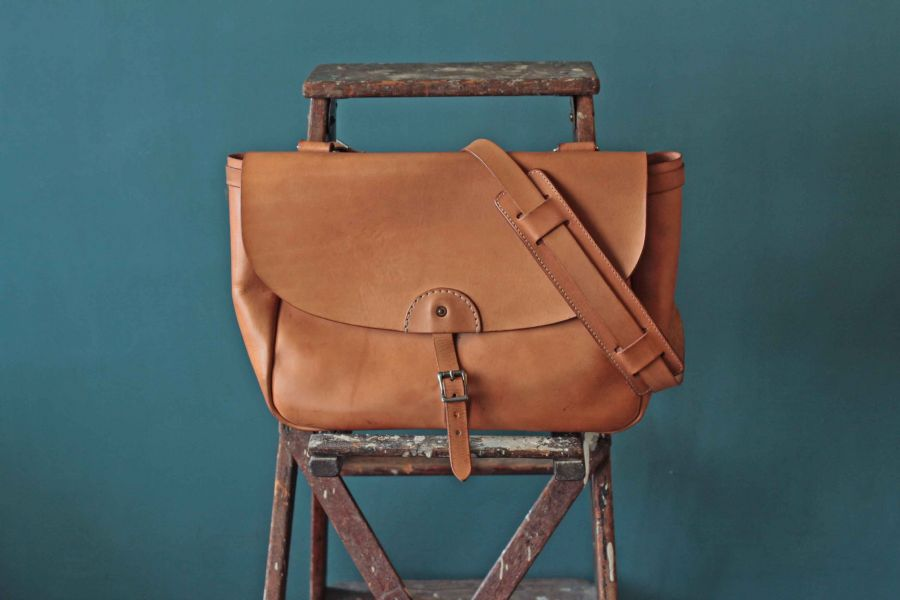 S.F.K. 1950′S Type mail Bag 1th Faith,Faith co,leather goods, made in Taiwan,植鞣皮革,台南,台南逛街,台南男裝,選物店,老派,mr old,mail bag