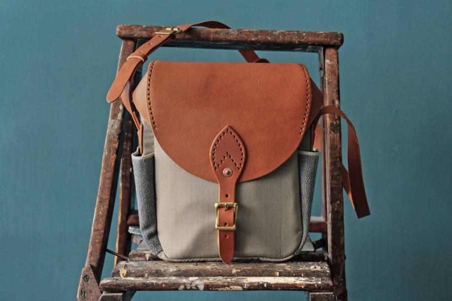 S.F.K. Crossbody bag/焦茶色 Faith,Faith co,leather goods, made in Taiwan,植鞣皮革,台南,台南逛街,台南男裝,選物店,老派,mr old