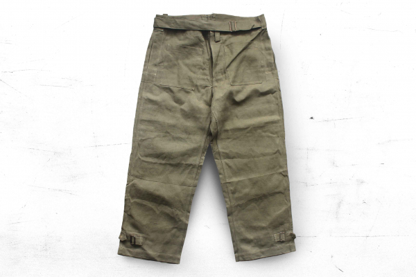 Vintage- French Cotton Motorcycle Riding Pants