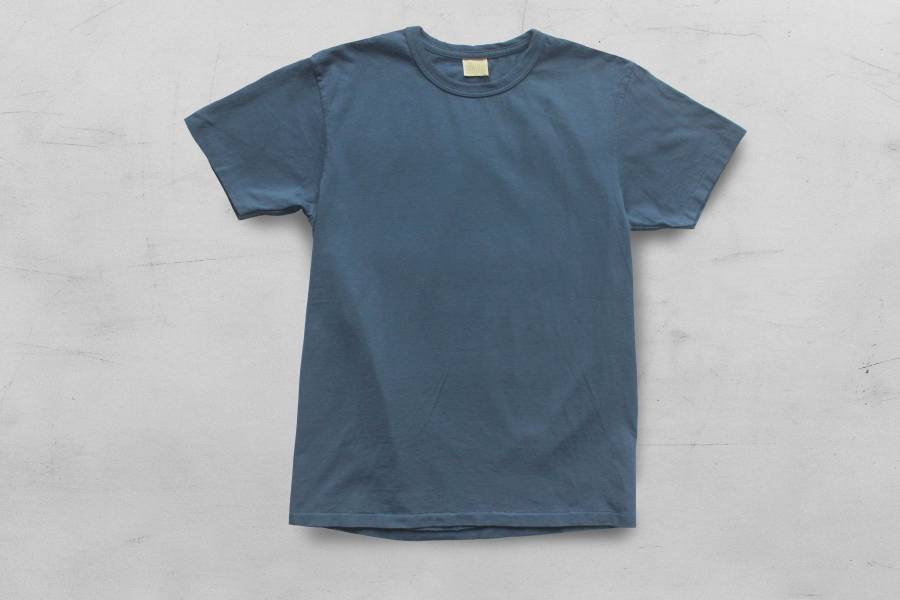 Runabout - SIMPLE TEE/冰川藍 runabout goods