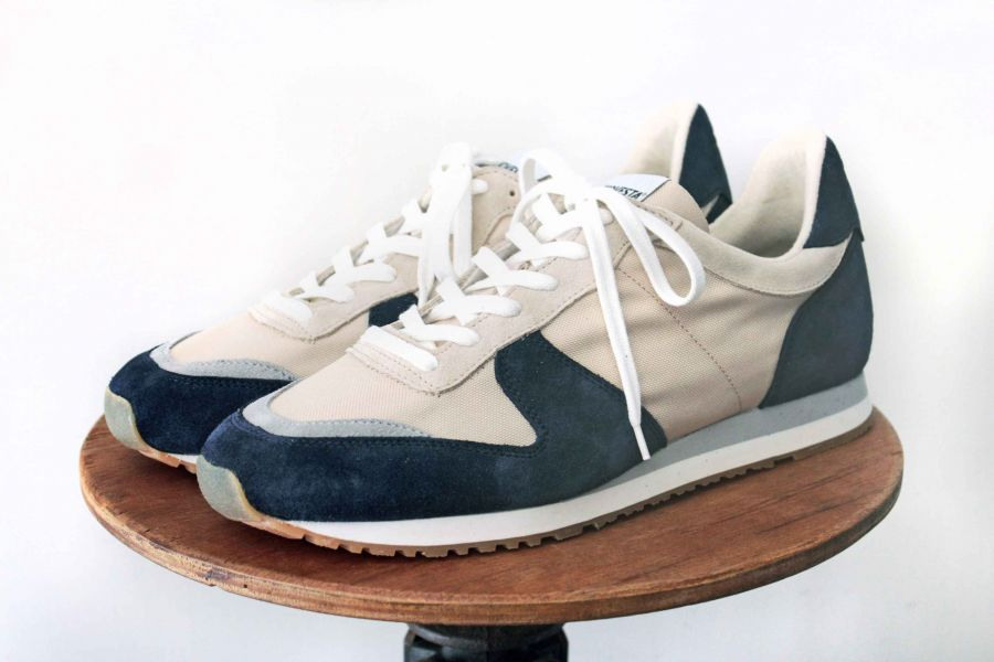 NOVESTA -Marathon (藍/米) novesta,Novesta shoes,台南,台南逛街,台南男裝,選物店,老派