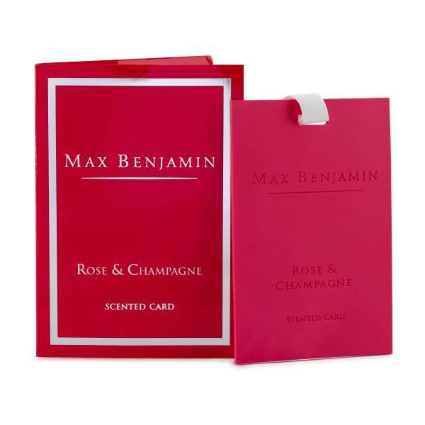 Max Benjamin 麥克斯.傑明 玫瑰香檳 香氛卡 香氛卡