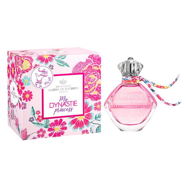 Marina de Bourbon 瑪莉安娜 花曲頌讚優惠組合 淡香精+小香水