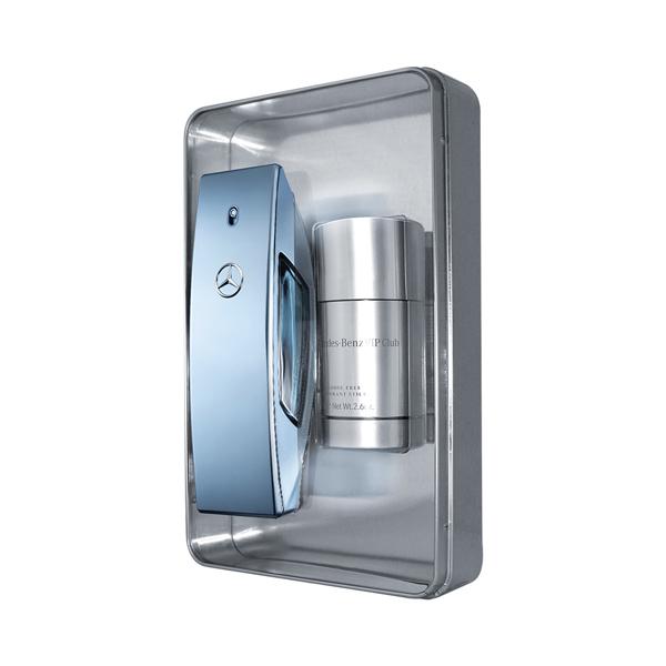 賓士自由藍調 禮盒組(50ml+體香膏) 賓士香水,自由藍調