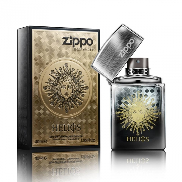 Zippo Helios 太陽神 限時優惠組(香水40ml+戰神噴霧150g)